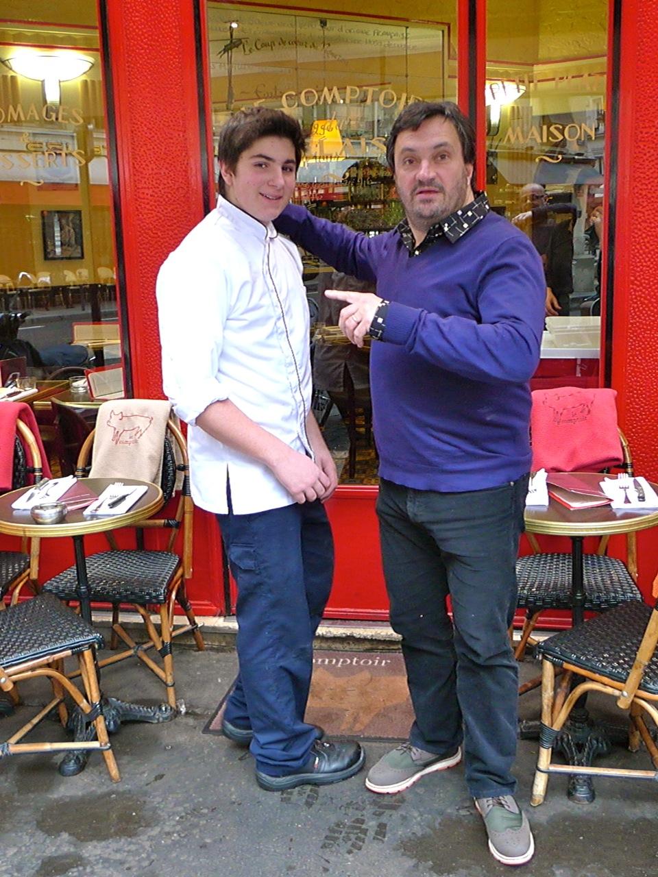Yves camdeborde vivre la restauration for Cuisinier yves camdeborde